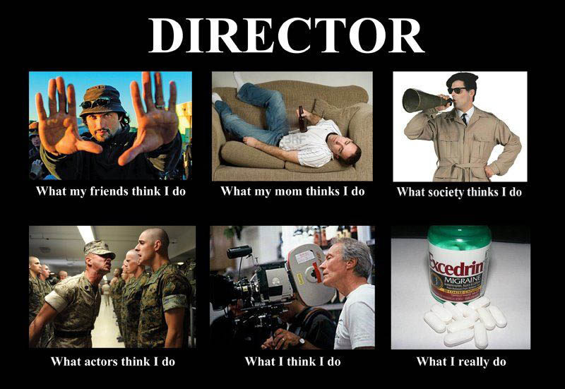 What my friends think I do what I actually do - Director