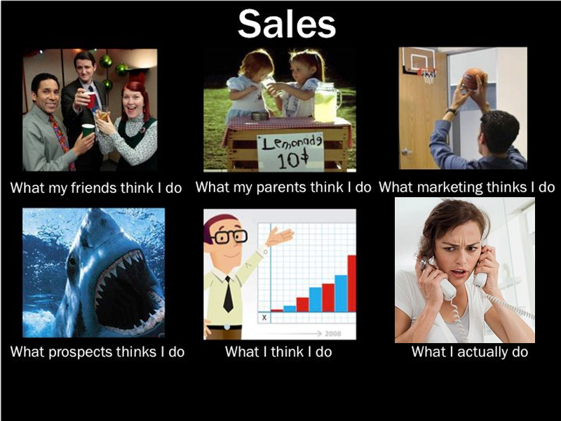 What-my-Friends-think-I-do-Sales